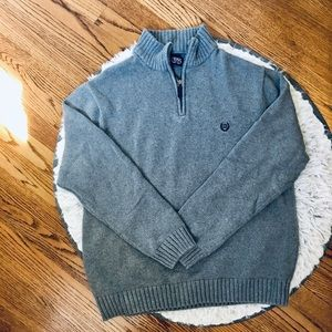 Men's XL Grey Chaps Pullover Sweater